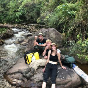 Wadskjær Forlag The Forgotten Amazon Posic fieldwork kristoffer damgaard out of the night