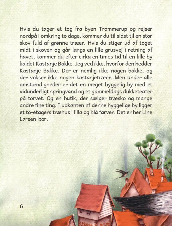 Lina Gets A Mango Danish uddrag