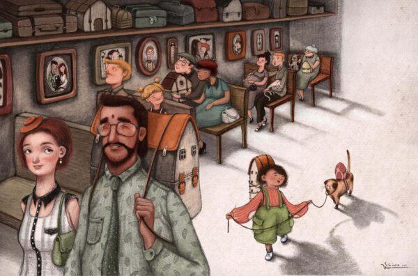 Bogen om dig og mig race nationalitet børnebog wadskjær